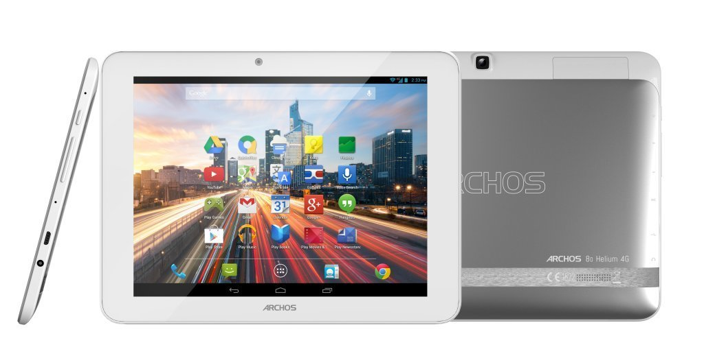 80 Helium 4G : chez Archos, la 4G se décline version tablette