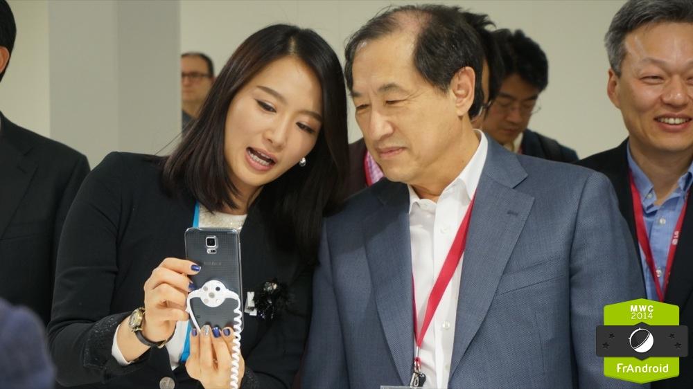 Anecdote : Quand LG est venu prendre en main le Galaxy S5