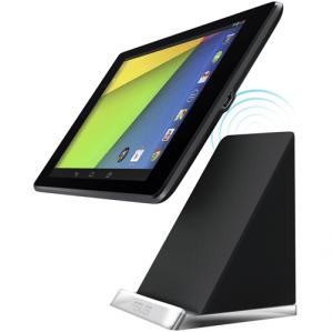 PW100 : Asus propose un dock Qi pour Nexus 7 2013 à 70 euros