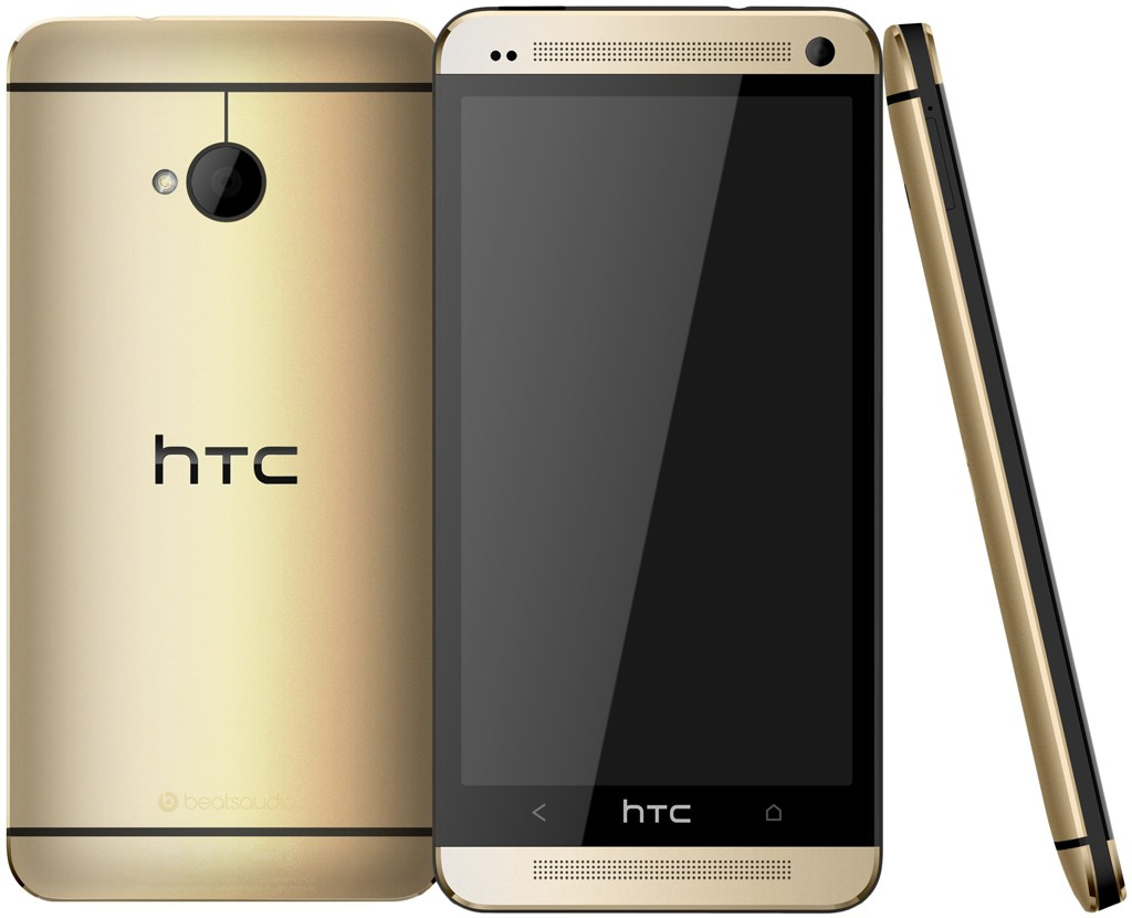 Le HTC One doré est disponible en ligne à 505 euros