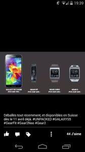 799 francs suisses pour le nouveau Galaxy S5 ?