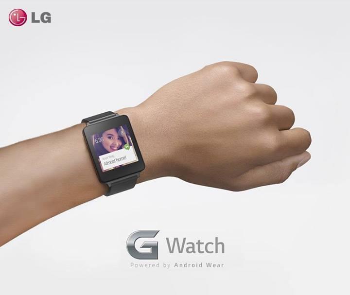 LG G Watch, un design angulaire !