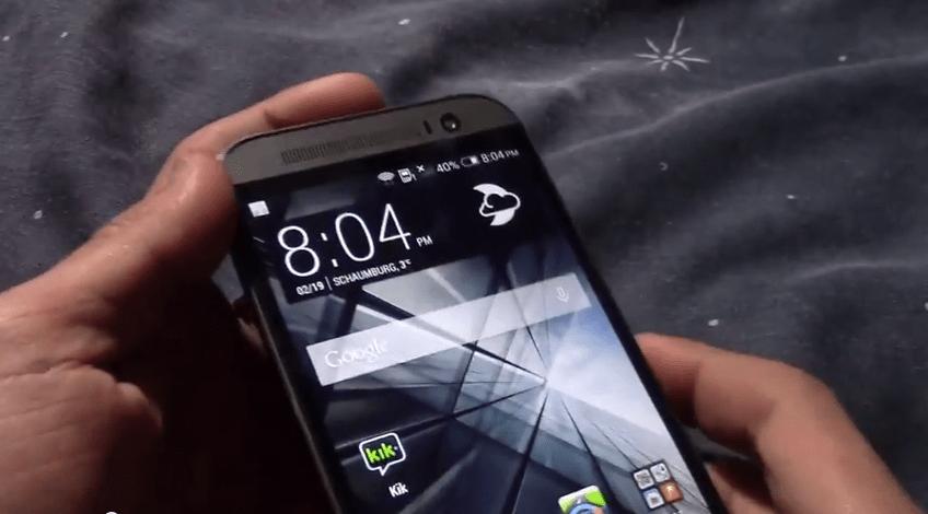 Le All New One aperçu dans une longue vidéo irrite HTC