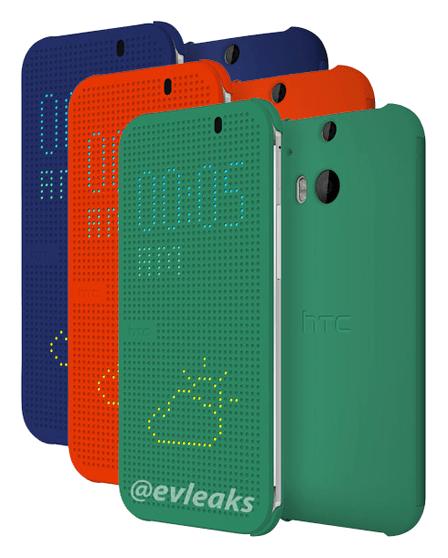 All New One de HTC : une coque LED pour afficher les notifications et l'heure