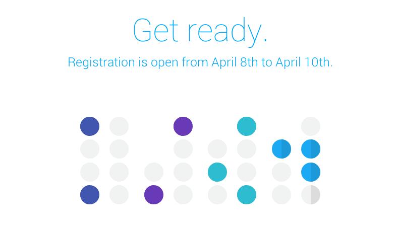Google I/O 2014 : les inscriptions seront ouvertes entre le 8 et le 10 avril