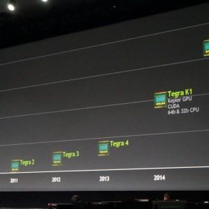 NVIDIA : Après K1, Erista sera la prochaine génération d'architecture mobile