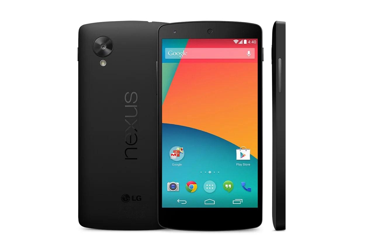 Google Nexus 5 : tout ce qu'il faut savoir sur le smartphone