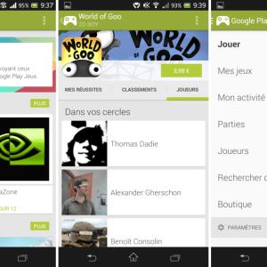 Google Play Jeux 1.5 : une meilleure interaction entre les joueurs (téléchargement)