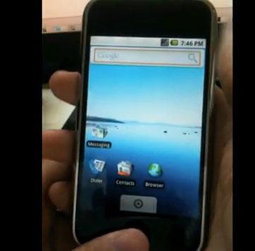 Un tutoriel d'installation pour Android sur iPhone