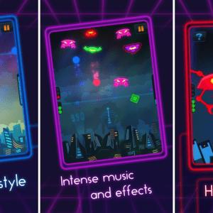 Neon Commander : tracez vos défenses pour survivre sur Android