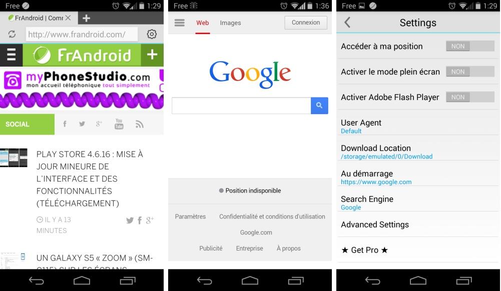 Now Browser, un navigateur Android très léger compatible avec Flash