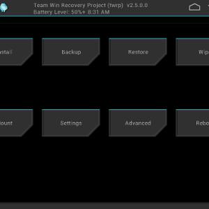 TWRP 2.7 : le recovery custom inclut de nouvelles fonctionnalités