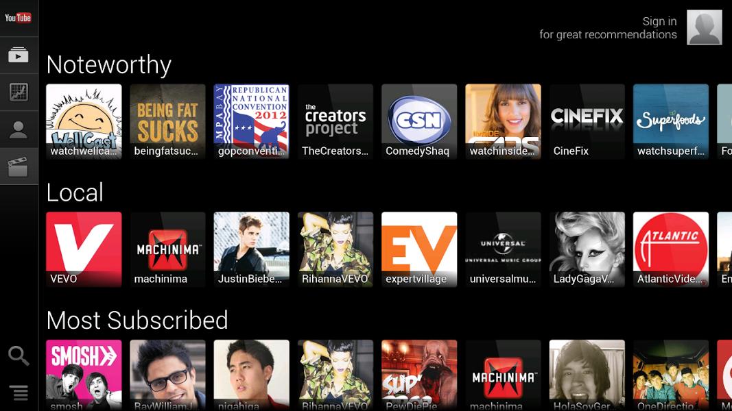 YouTube For TV : l'app revient sur le Google Play avec une mise à jour !