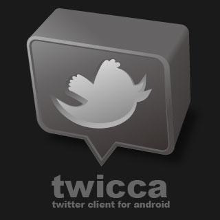 Twicca Beta un Client Twitter trèsavancé!