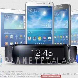 Samsung confirme par mégarde qu'il y aura bien des Galaxy Tab 4