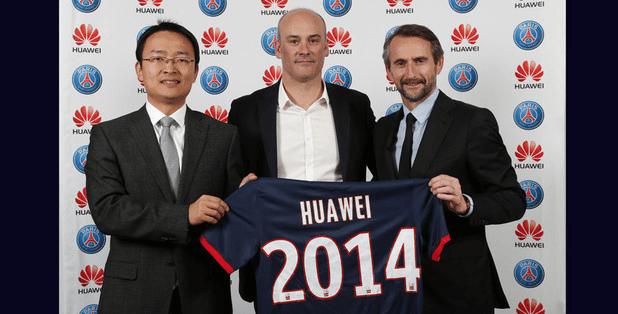 Huawei devient partenaire du PSG pour trois ans !
