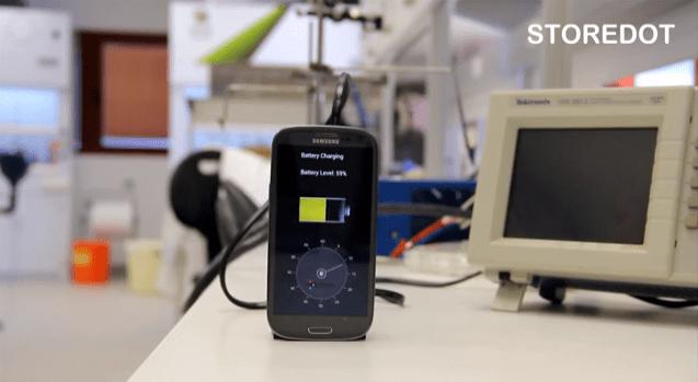 StoreDot : une start-up israélienne invente le rechargement en 30 secondes