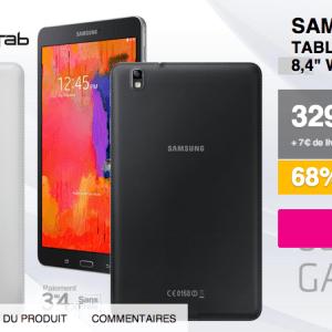 Bon plan : Galaxy Tab Pro 8.4 à 329 euros sur Qoqa.fr