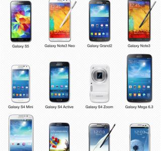 Gear 2, Gear Neo et Gear Fit : la liste des mobiles et tablettes compatibles