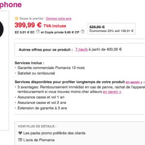 Bon plan : le Sony Xperia Z1 à 387,99 euros chez Pixmania