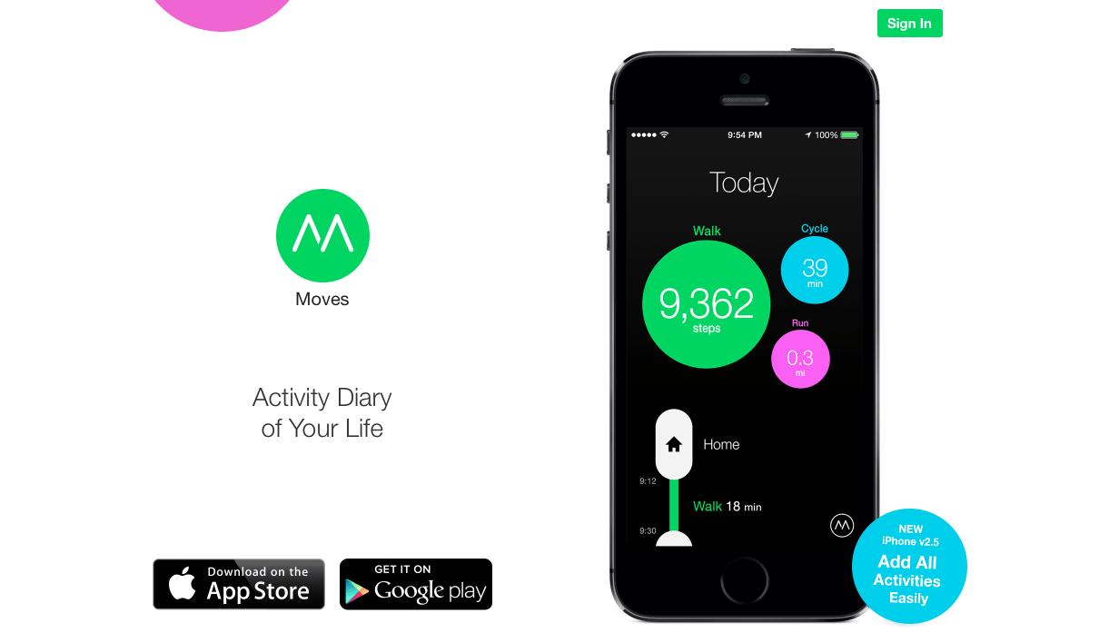 Facebook achète Moves, une application fitness pour trackers d'activité