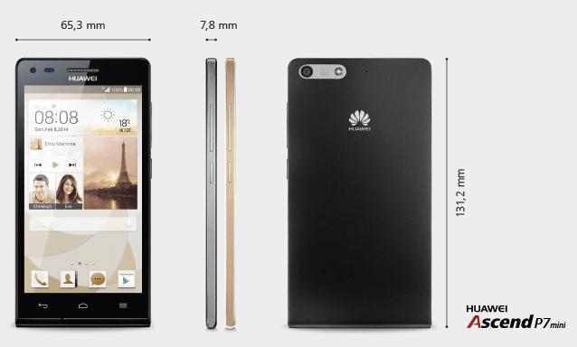 Le Huawei Ascend P7 mini choisit le Snapdragon 400 pour sa compatibilité 4G