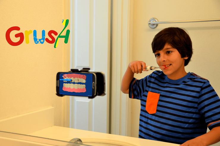 Grush ou comment amuser les enfants avec leur brosse à dents