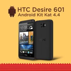 Le HTC Desire 601 reçoit Android KitKat 4.4.2 et Sense 5.0