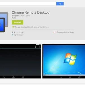 Chrome Remote Desktop est sur le Google Play (en bêta privée)