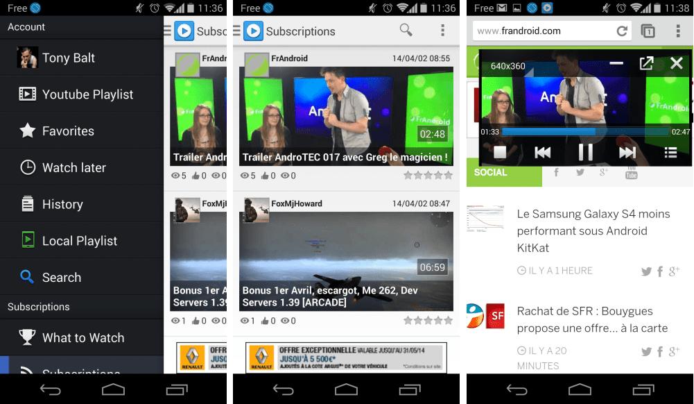 SuperTube : une alternative à YouTube avec le mode fenêtré