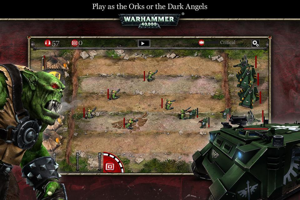 Warhammer 40K: Storm of Vengeance attaque le Google Play