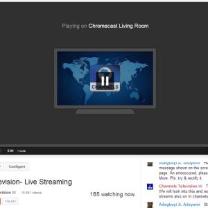 Chromecast : les vidéos en direct YouTube disponibles sur PC et bientôt sur Android