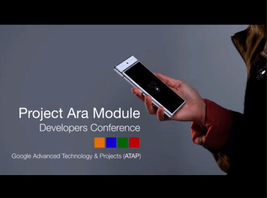 Projet Ara : Google annonce une commercialisation pour janvier 2015
