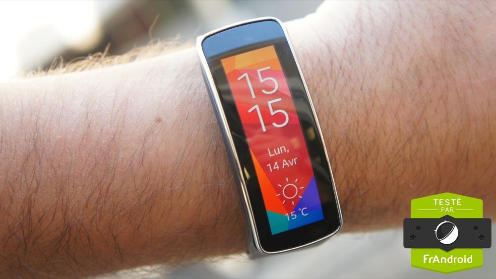 Samsung Gear Fit : il n'est pas seulement compatible avec les mobiles Samsung
