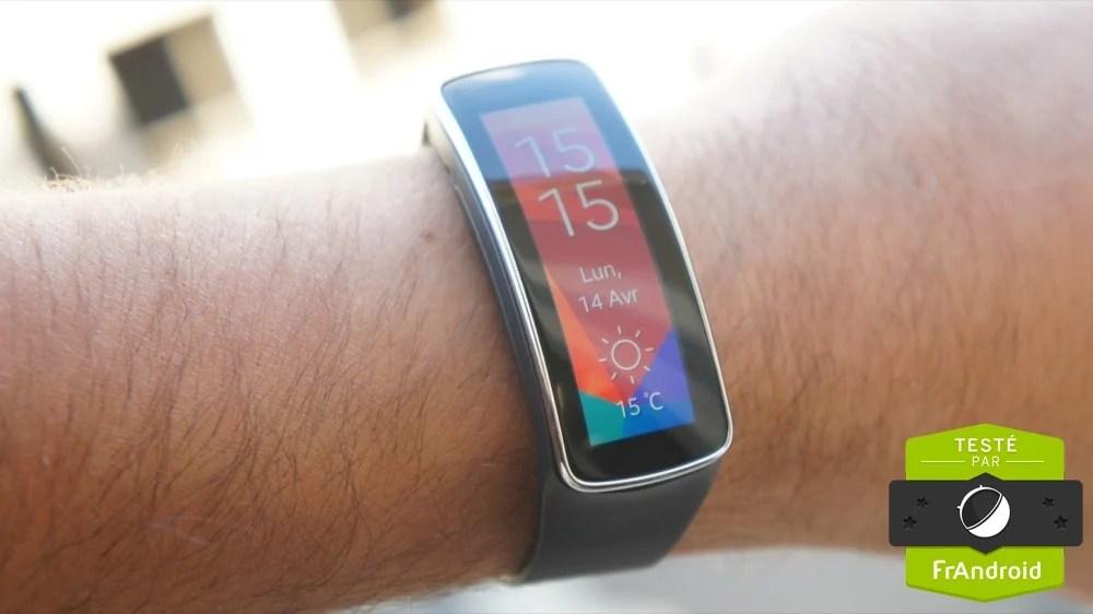 Test du Samsung Gear Fit, un bracelet pas comme les autres