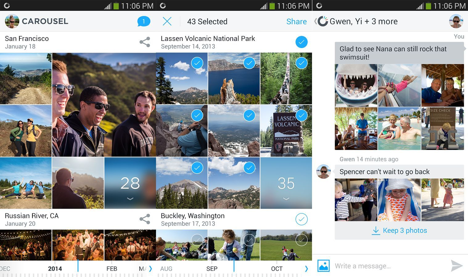 Carousel : l'application photo de Dropbox est disponible sur Google Play
