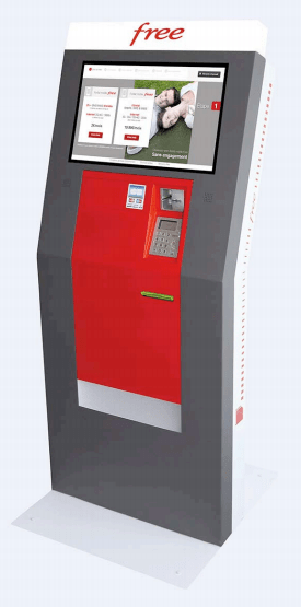 Free Mobile lance des distributeurs automatiques de cartes SIM pour compléter ses boutiques physiques