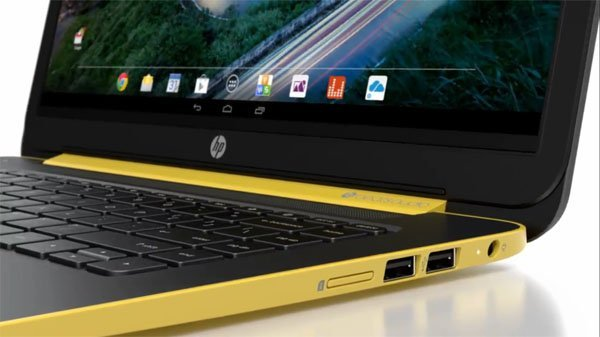 HP SlateBook 14, quand un ordinateur portable Android mesure 14 pouces