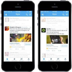Twitter va bientôt intégrer des pubs pour les applications mobiles