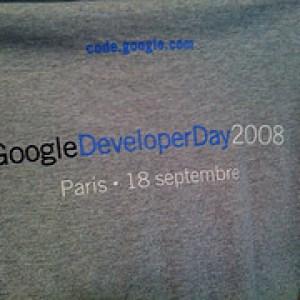 Google Developer Day à Paris