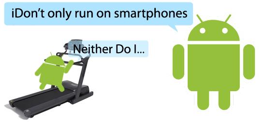 Un parc d'appareil Android composé «seulement» de 25% de smartphones en 2013