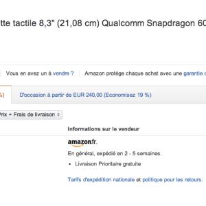 Bon plan : LG G Pad 8.3 à 160 euros sur Amazon
