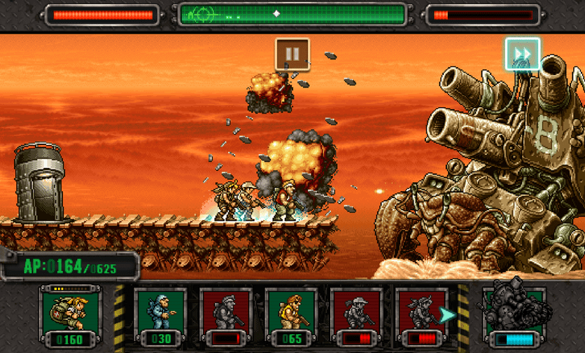 Metal Slug Defense : Le retro, c'est beau