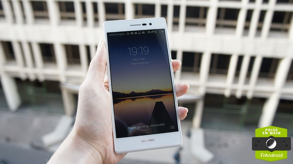 Prise en main du Huawei Ascend P7, la 4G combinée au design