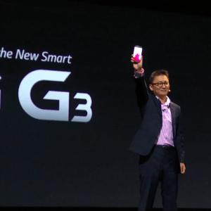 Le LG G3 est officiel et arrive avec quelques surprises !