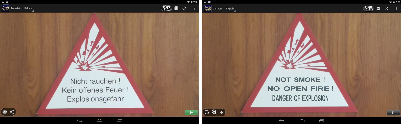 Google rachète les créateurs de Word Lens Translator, une app de traduction instantanée