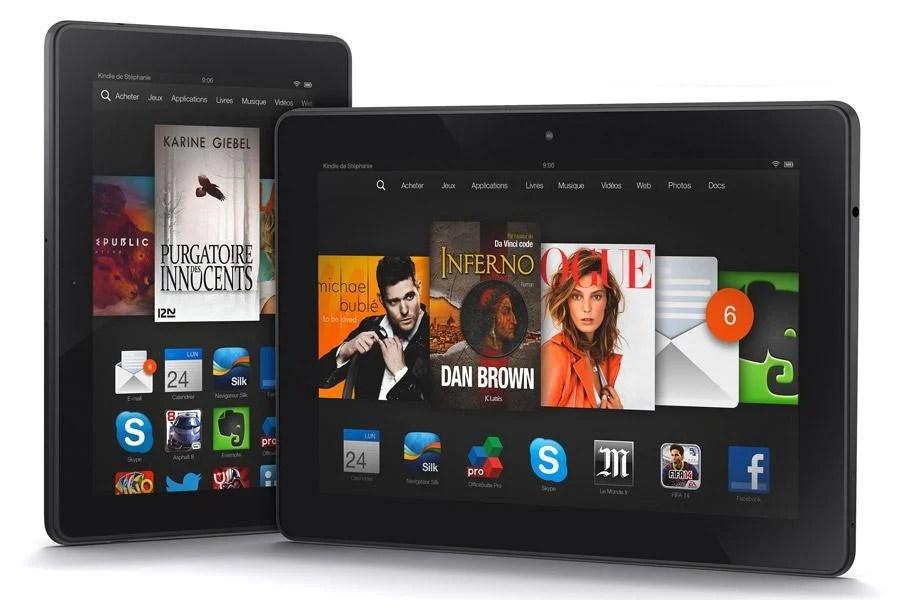 Amazon supprime le chiffrement de ses Kindle Fire avec l'arrivée d'Android Lollipop
