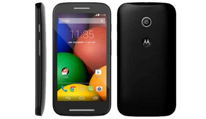 Le Motorola Moto E est officiel à 119 euros avec des caractéristiques d'entrée de gamme