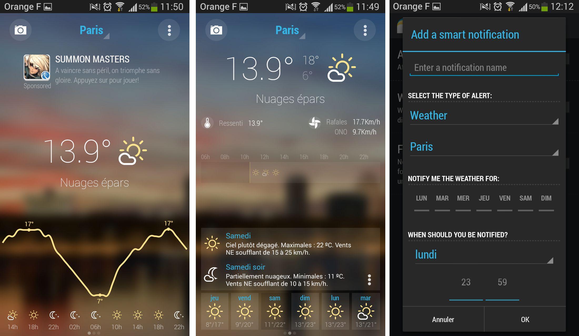 Bright Weather : une application météo sobre et complète