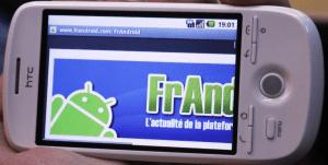 Lancement du G2 en France et Concours Android !